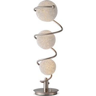 Metal Saturn Table Lamp