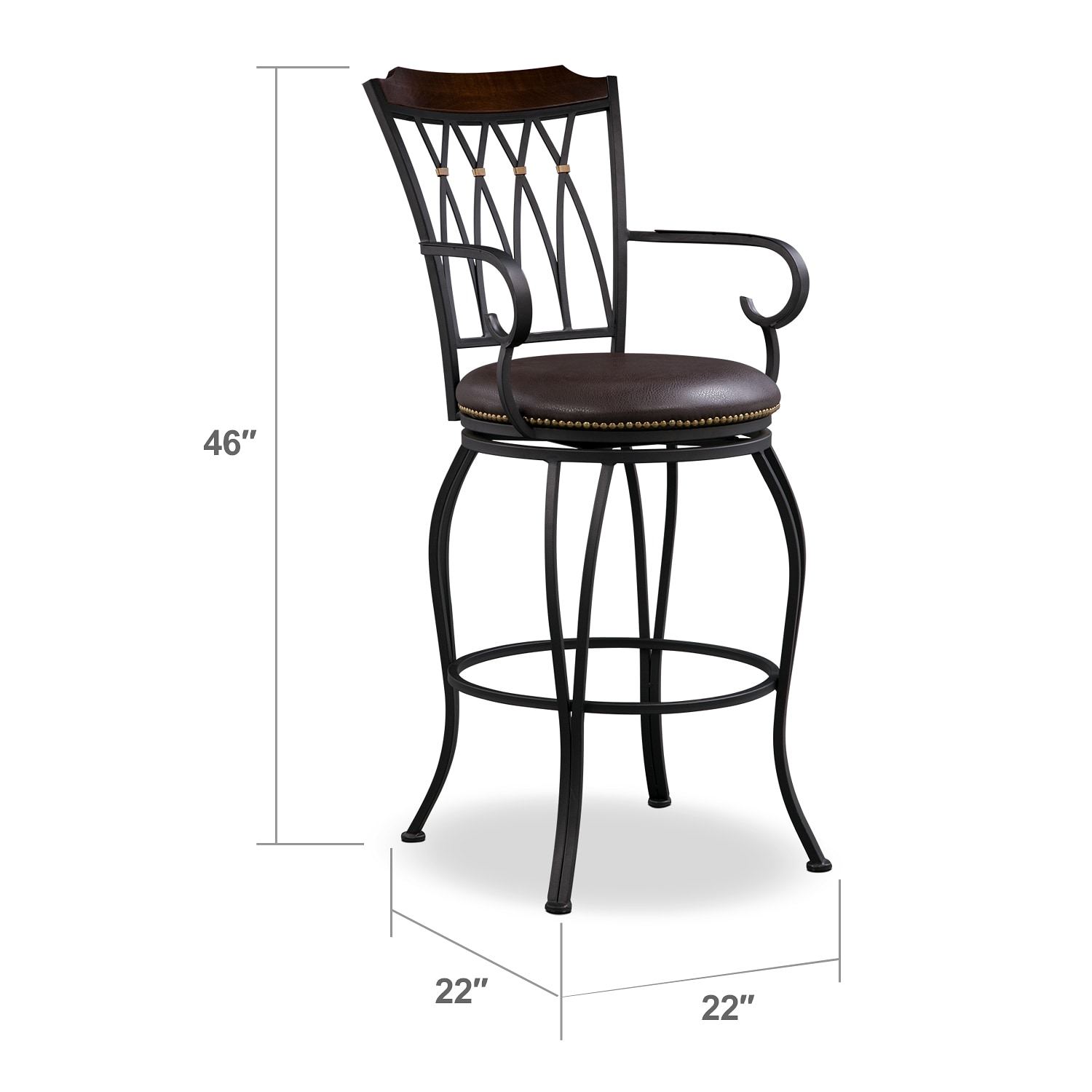 Dining Room Furniture - Winfield Barstool
