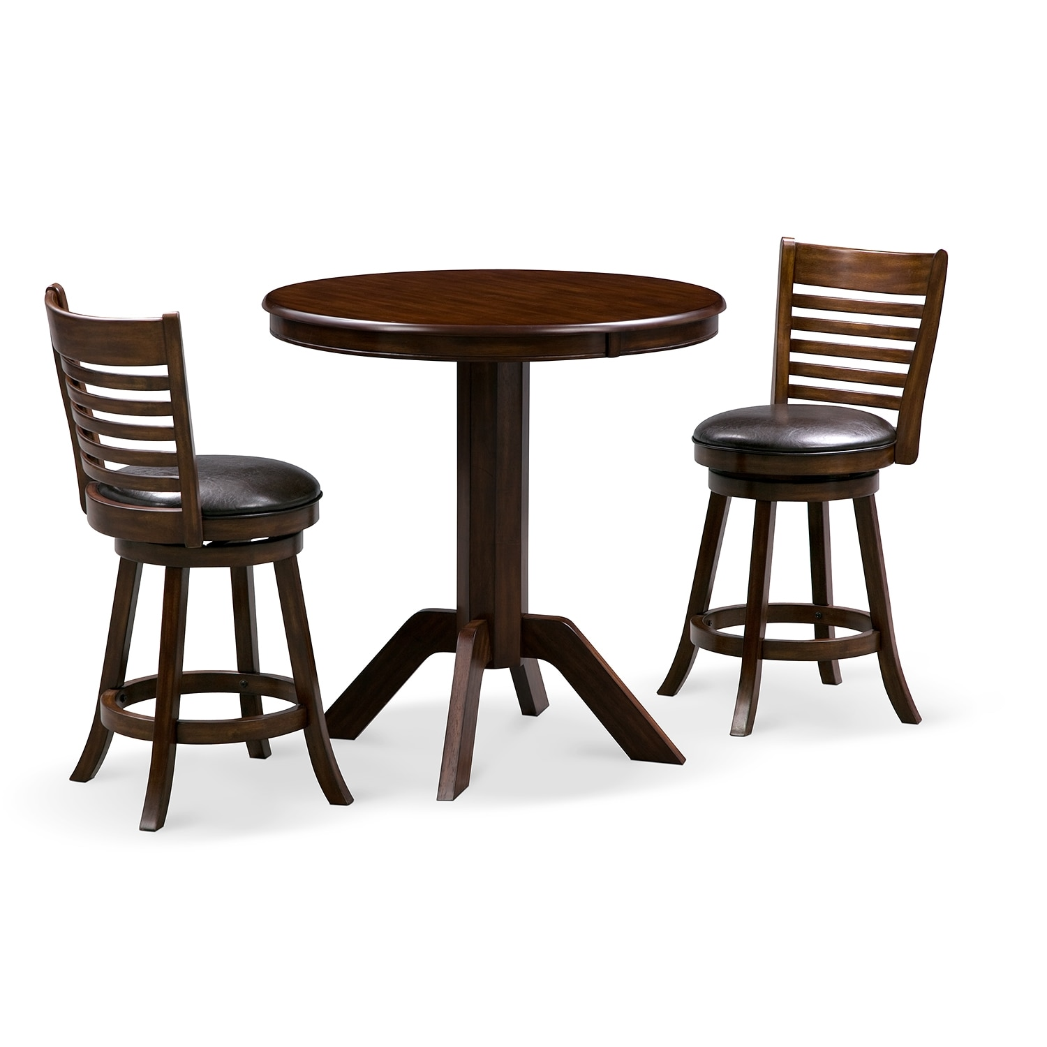 Concord Chance 3 Pc. Counter-Height Dinette