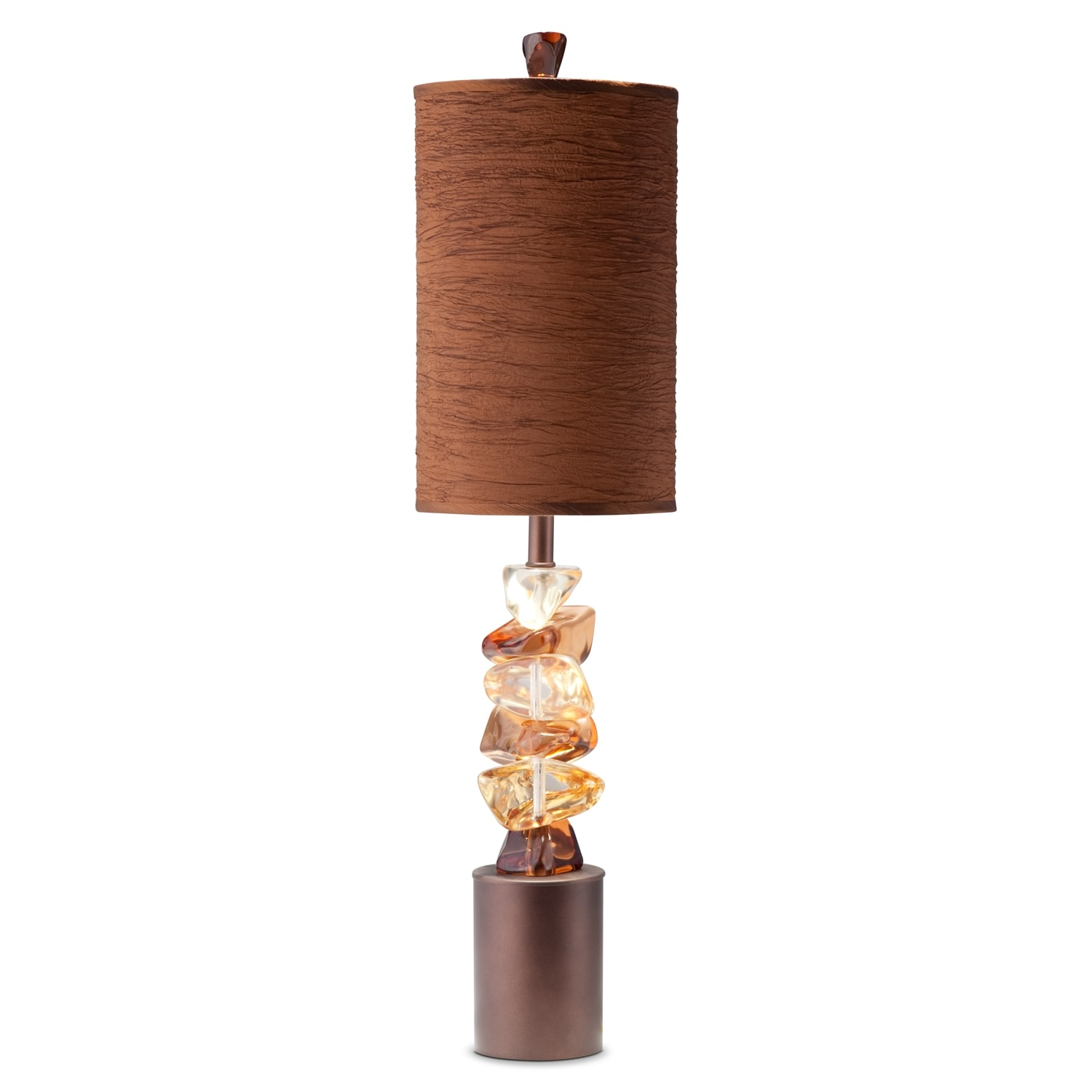 Home Accessories - River Rock Table Lamp
