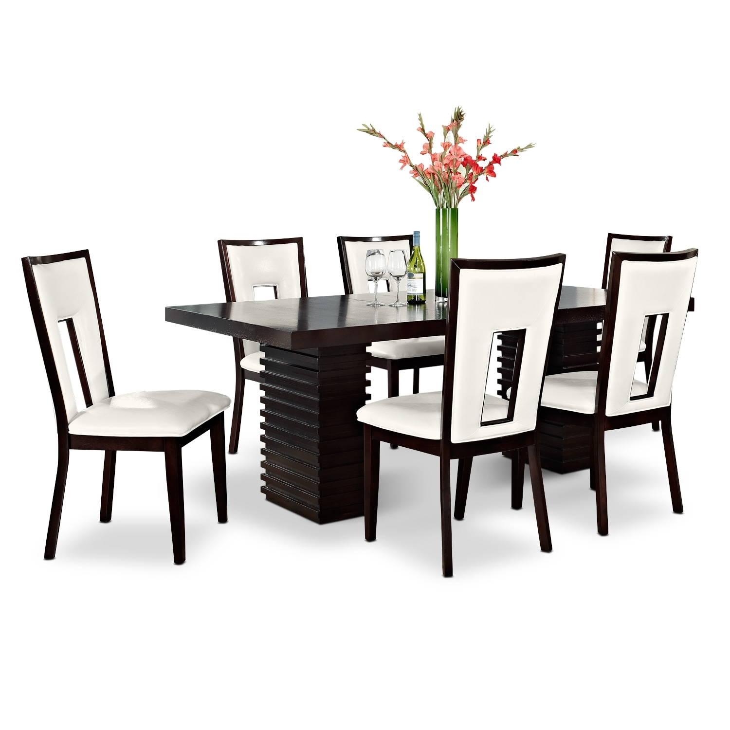 Dining Room Furniture - Paragon Madera II 7 Pc. Dining Room