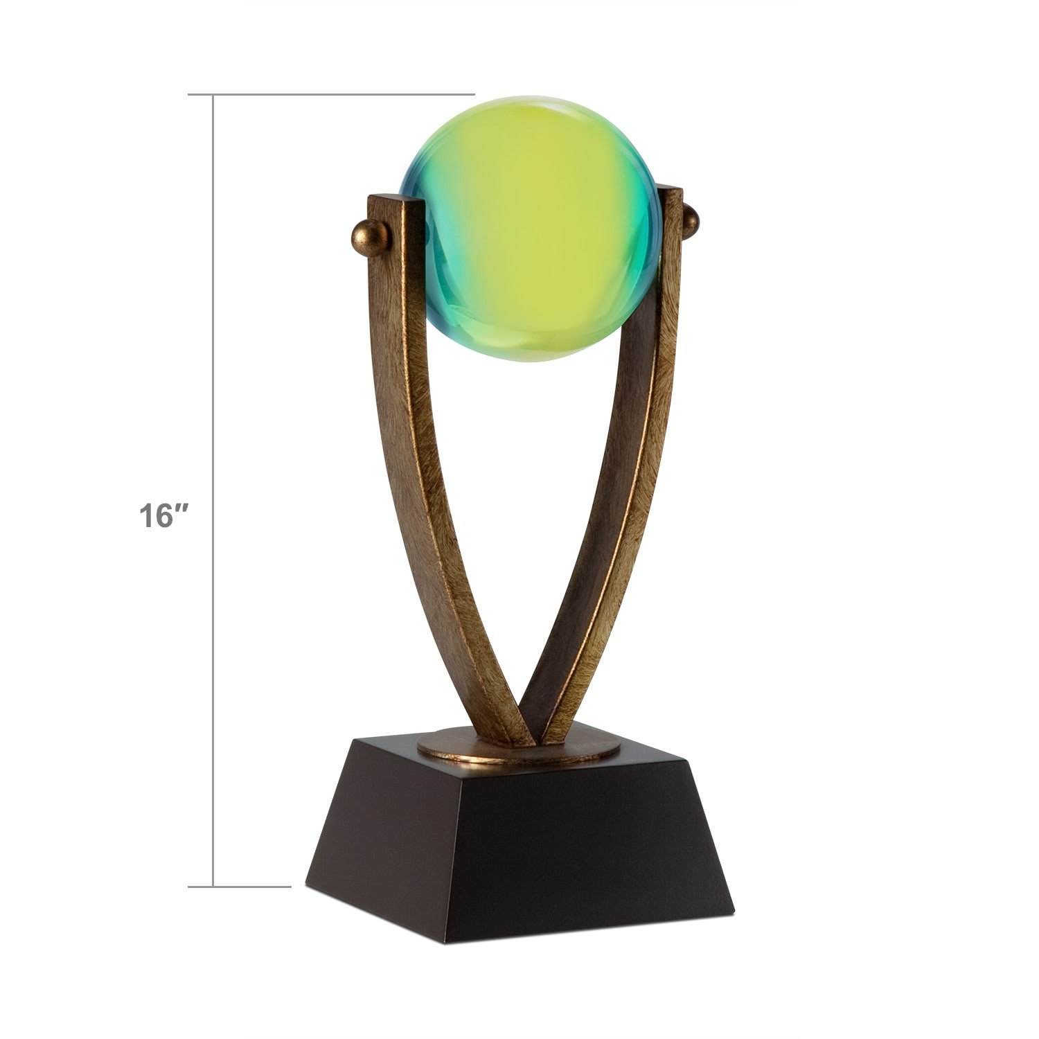 Accent and Occasional Furniture - Blue and Green Ball Tabletop Accessory