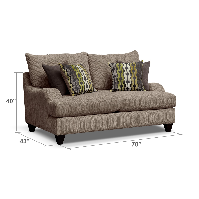 Living Room Furniture - Santa Monica Loveseat
