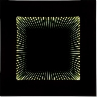 Estelle Mirror w/ Lights - Dark Cappuccino