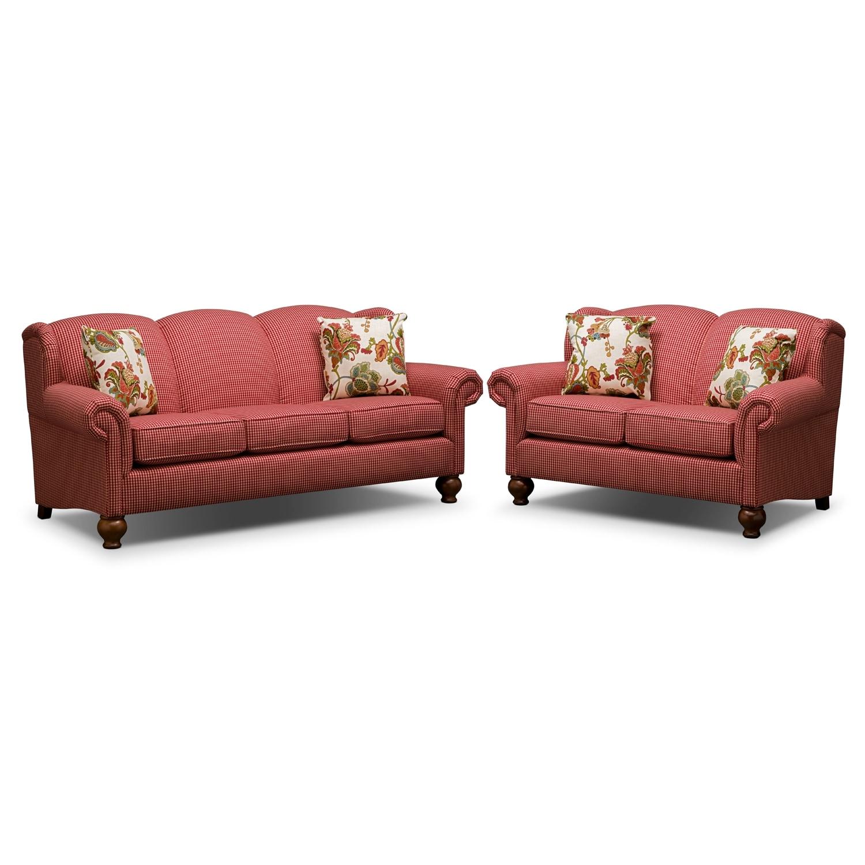 Living Room Furniture - Charlotte 2 Pc. Living Room
