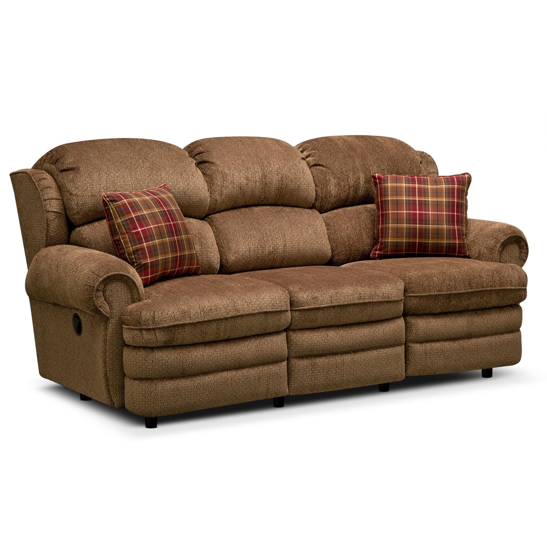 Living Room Furniture - Addison Reclining Sofa