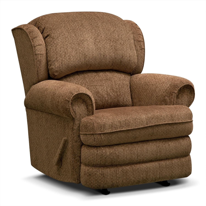 Living Room Furniture - Addison Rocker Recliner
