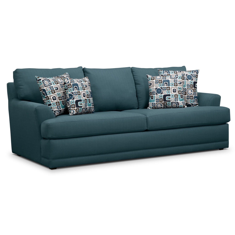 Living Room Furniture - Kismet Queen Memory Foam Sleeper Sofa