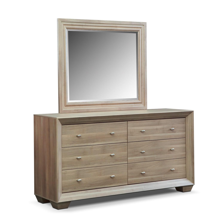 Bedroom Furniture - Siena Dresser & Mirror