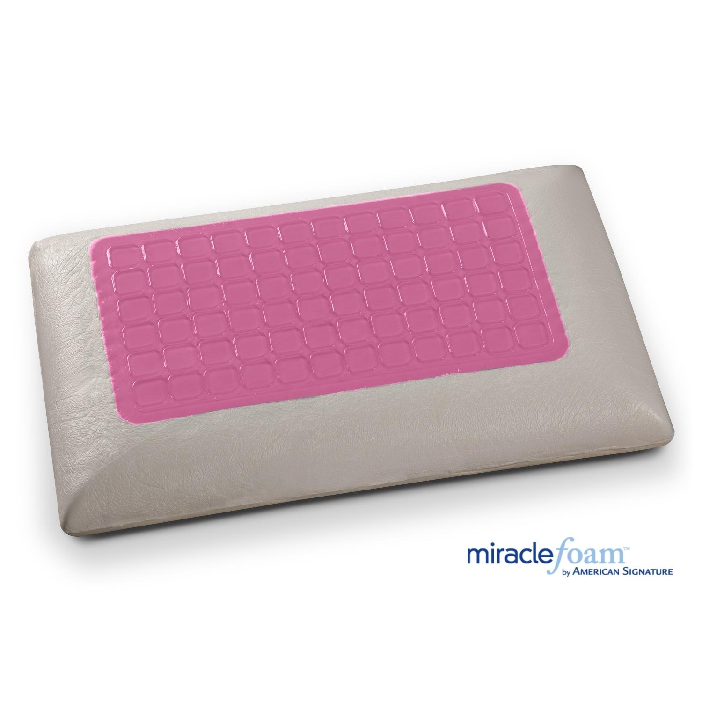 Mattresses and Bedding - Gel Memory Foam Gel Traditional Pillow
