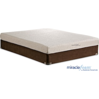 Renew Medium Firm Twin Mattress and Foundation Set