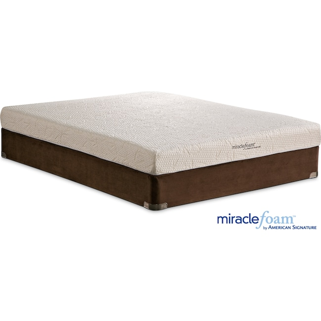Mattresses and Bedding - Renew II Queen Mattress and Split Foundation Set