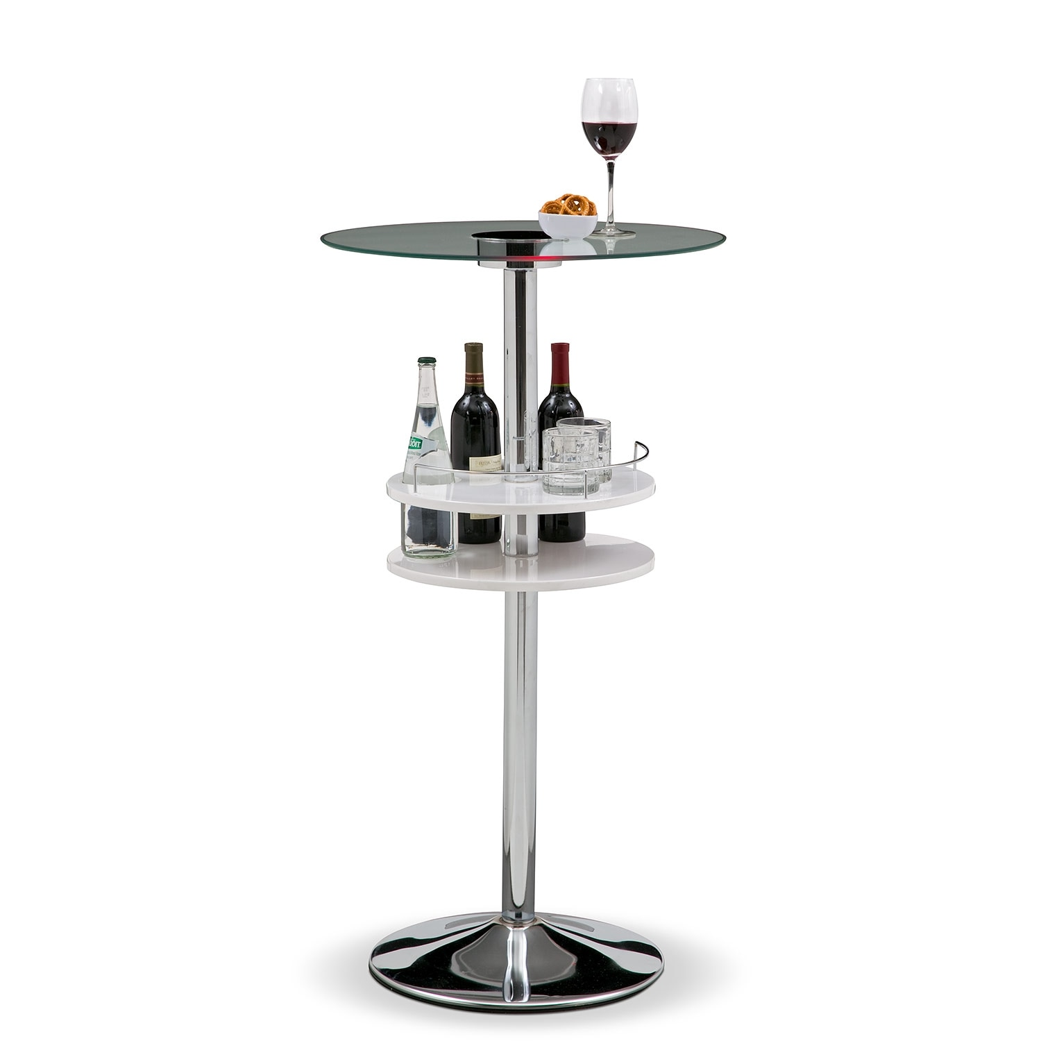 Accent and Occasional Furniture - Reno Bar Table w/ Light