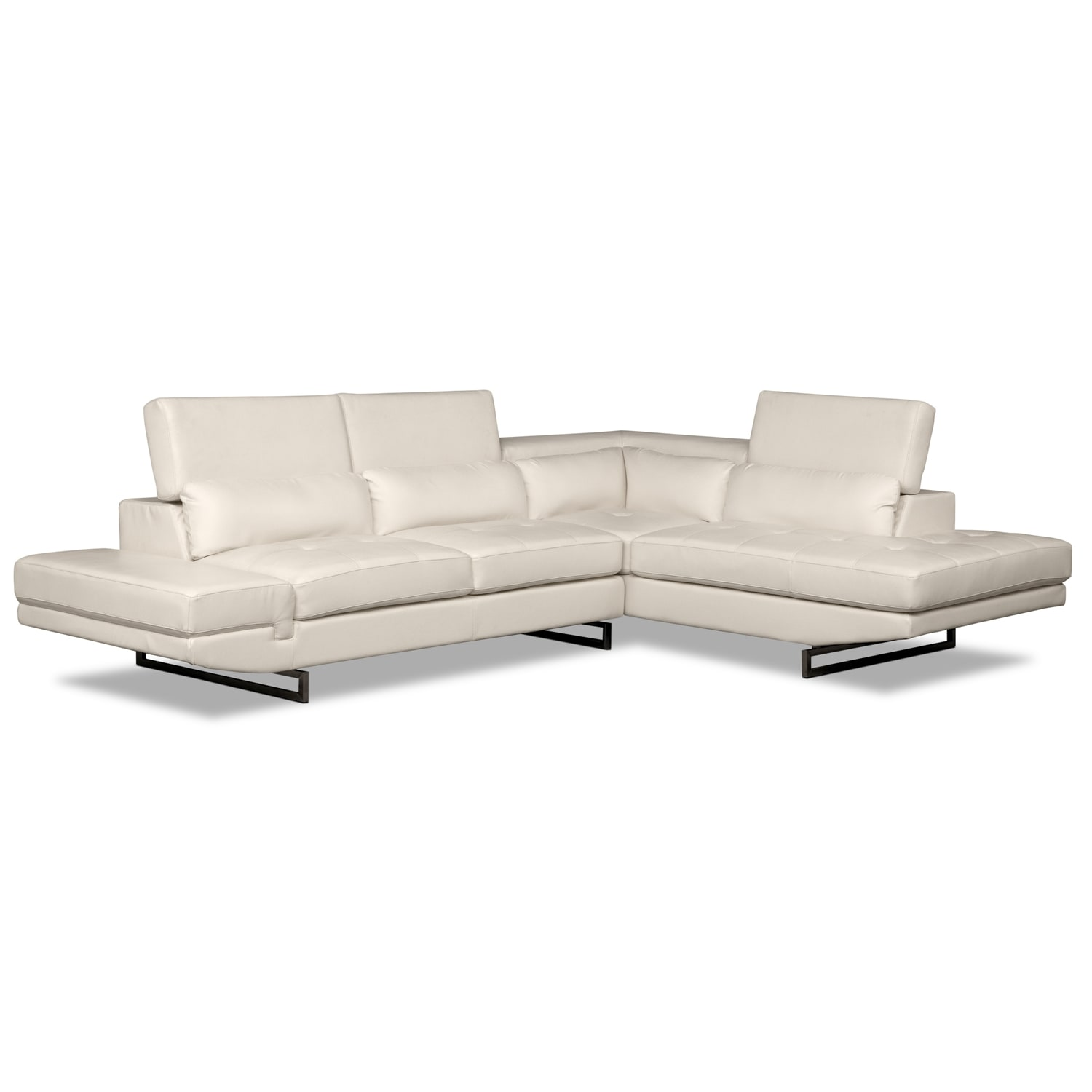 Saturn Living Room Sectional Ottoman