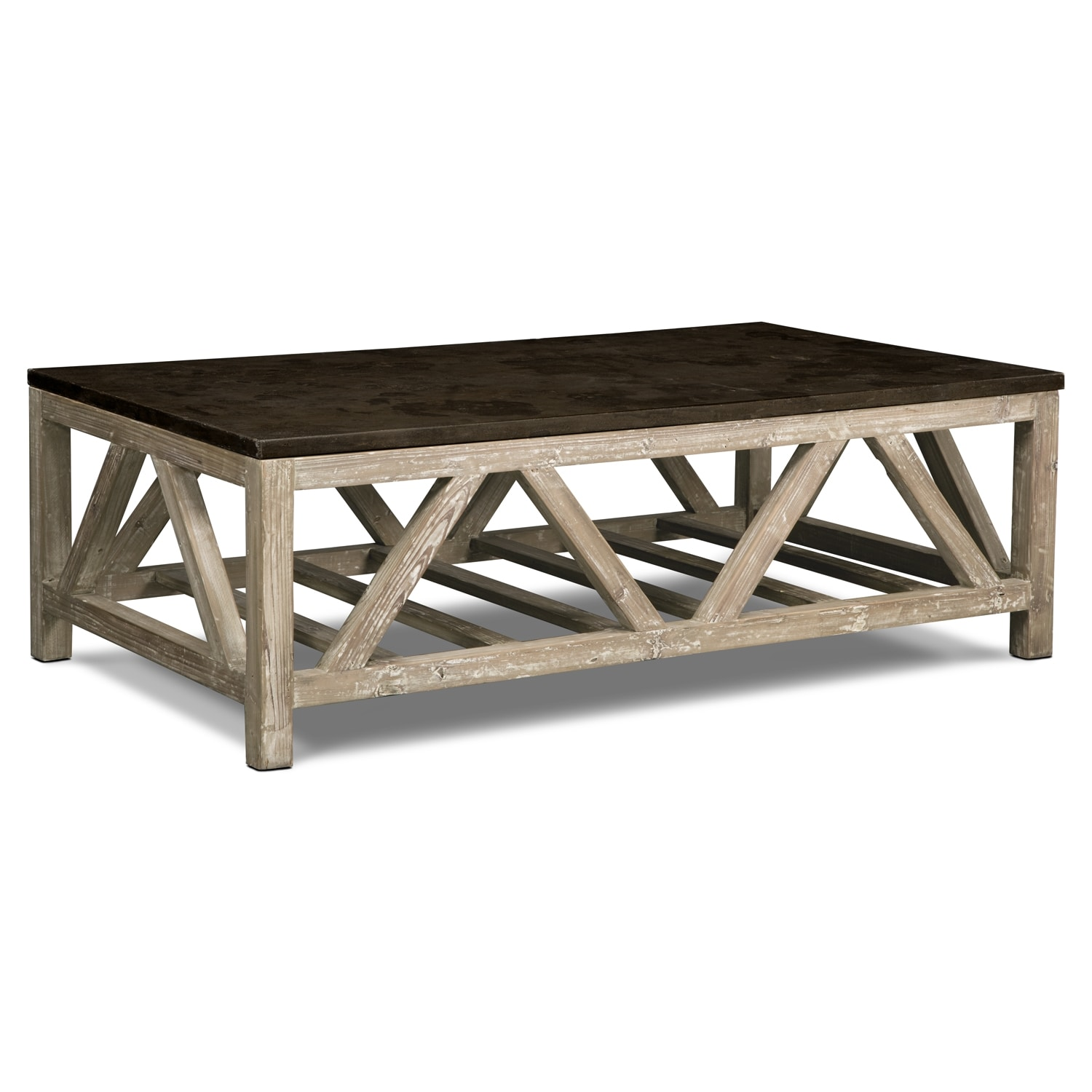 Grandin Cocktail Table - Brown