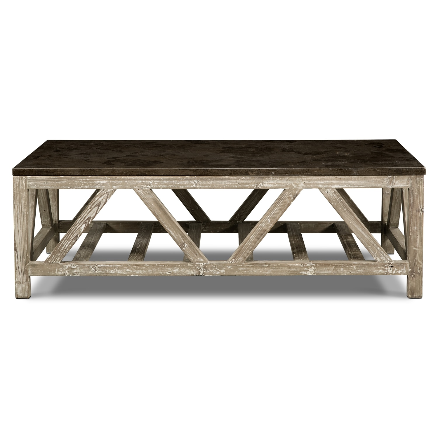 Grandin Cocktail Table Brown American Signature Furniture
