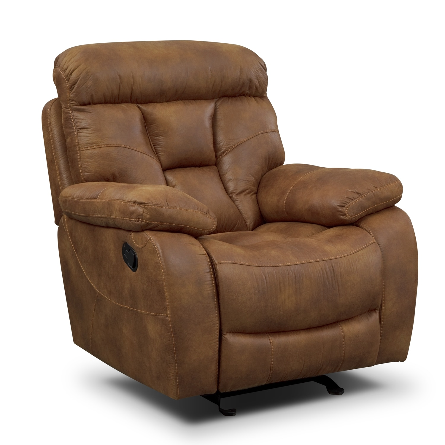 Living Room Furniture - Dakota II Glider Recliner