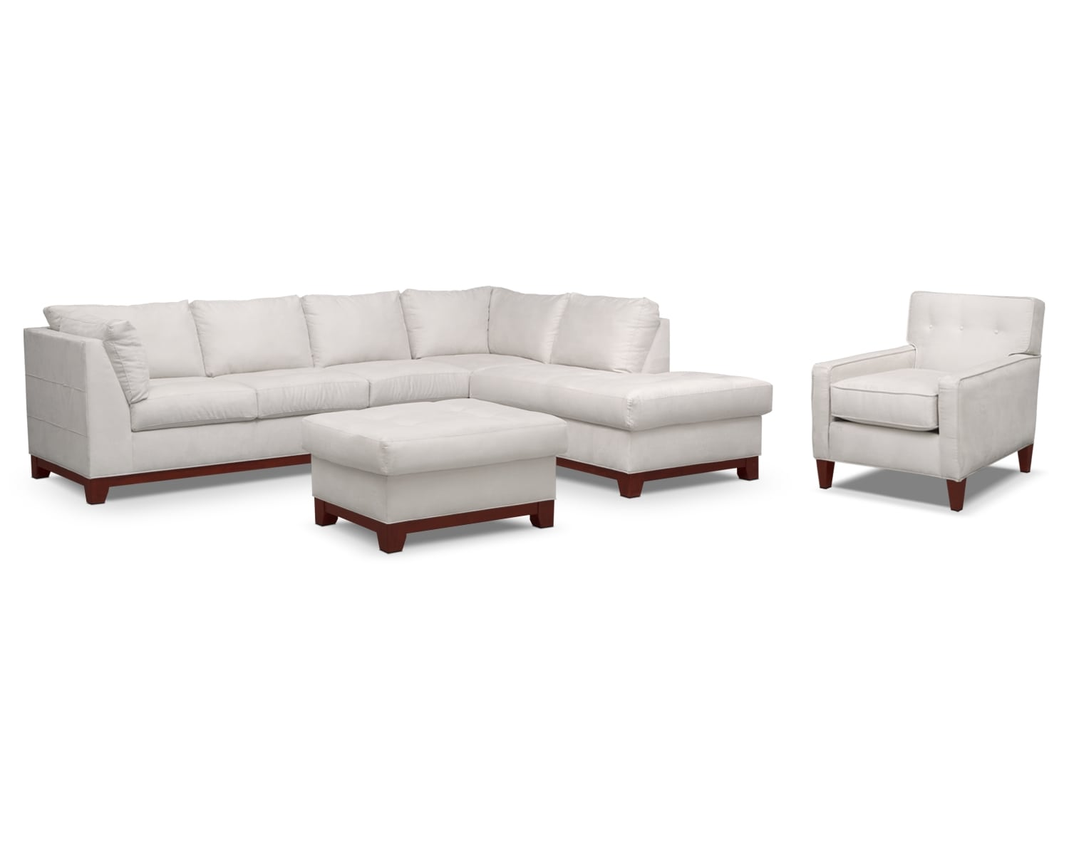 The Soho Sectional Collection - Cement