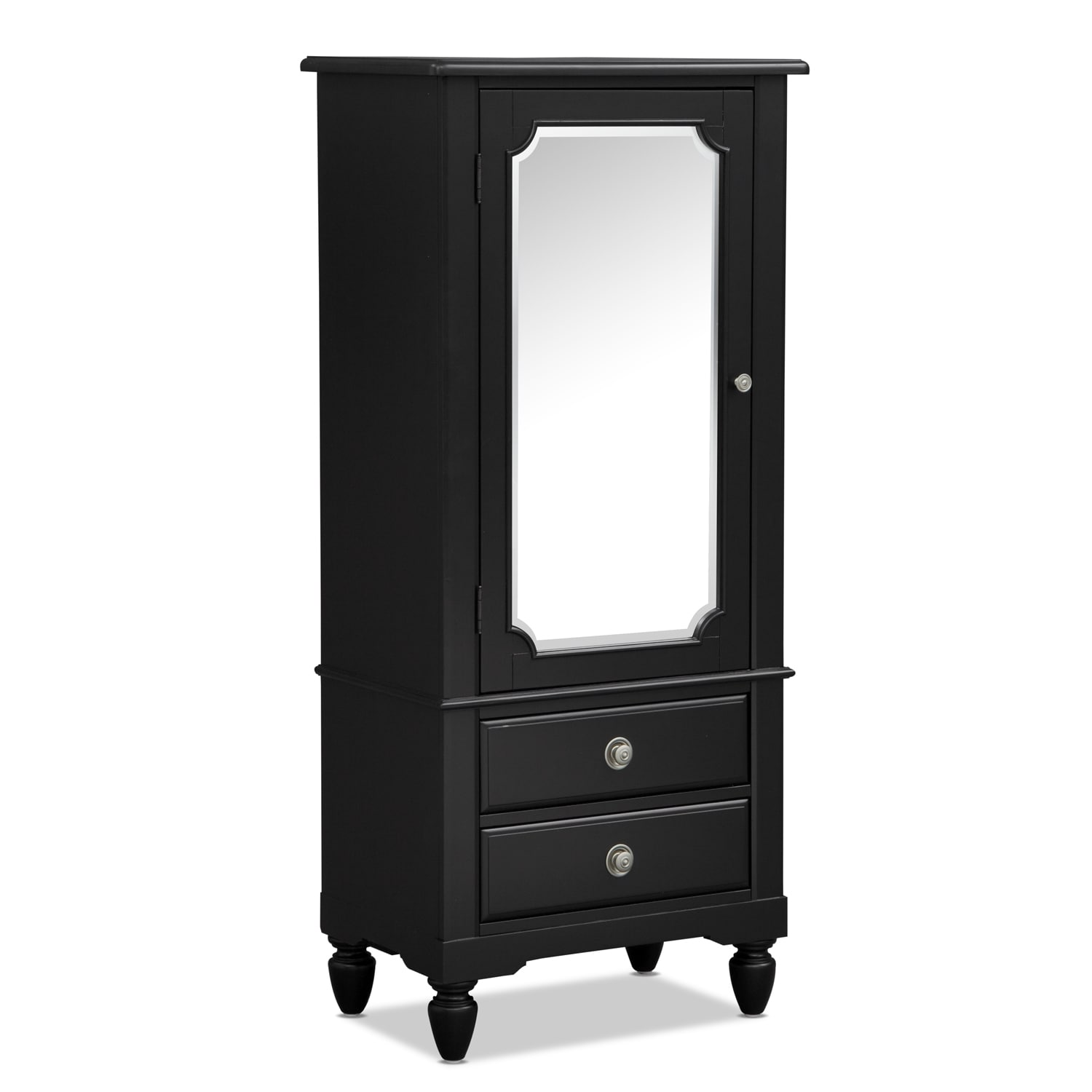 Kids Furniture - Seaside Black Lingerie Chest