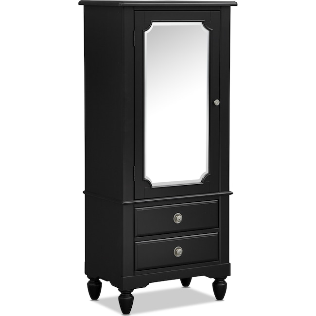 Kids Furniture - Seaside Lingerie Chest - Black