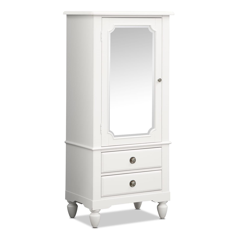 Kids Furniture - Seaside White Lingerie Chest