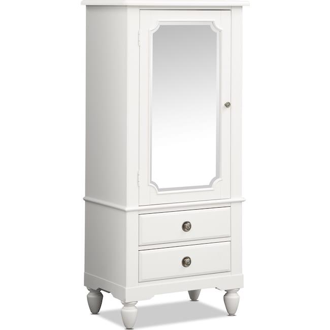Kids Furniture - Seaside Lingerie Chest - White