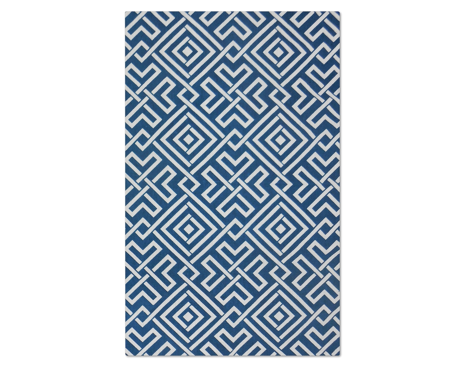 The Salon Zigzag Collection - Blue
