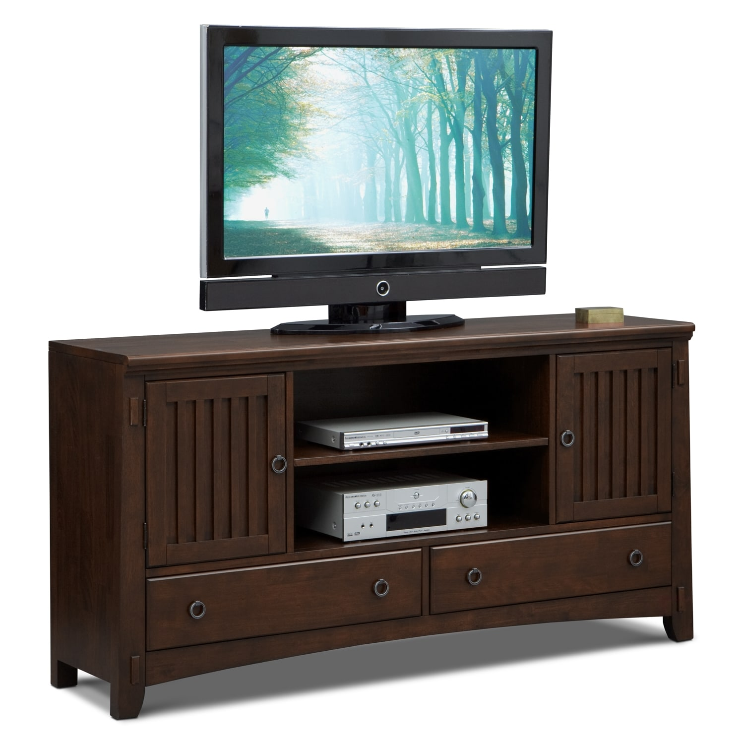 Arts & Crafts Dark II TV Stand