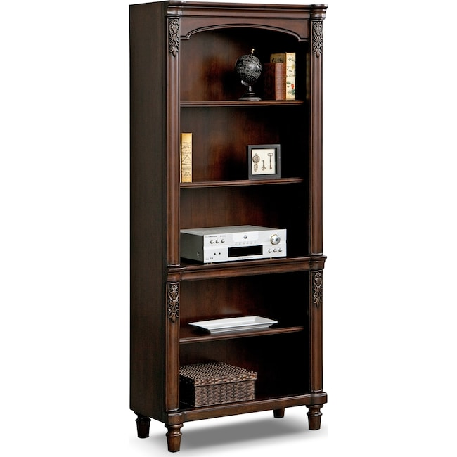 Home Office Furniture - Ashland Bookshelf - Cherry