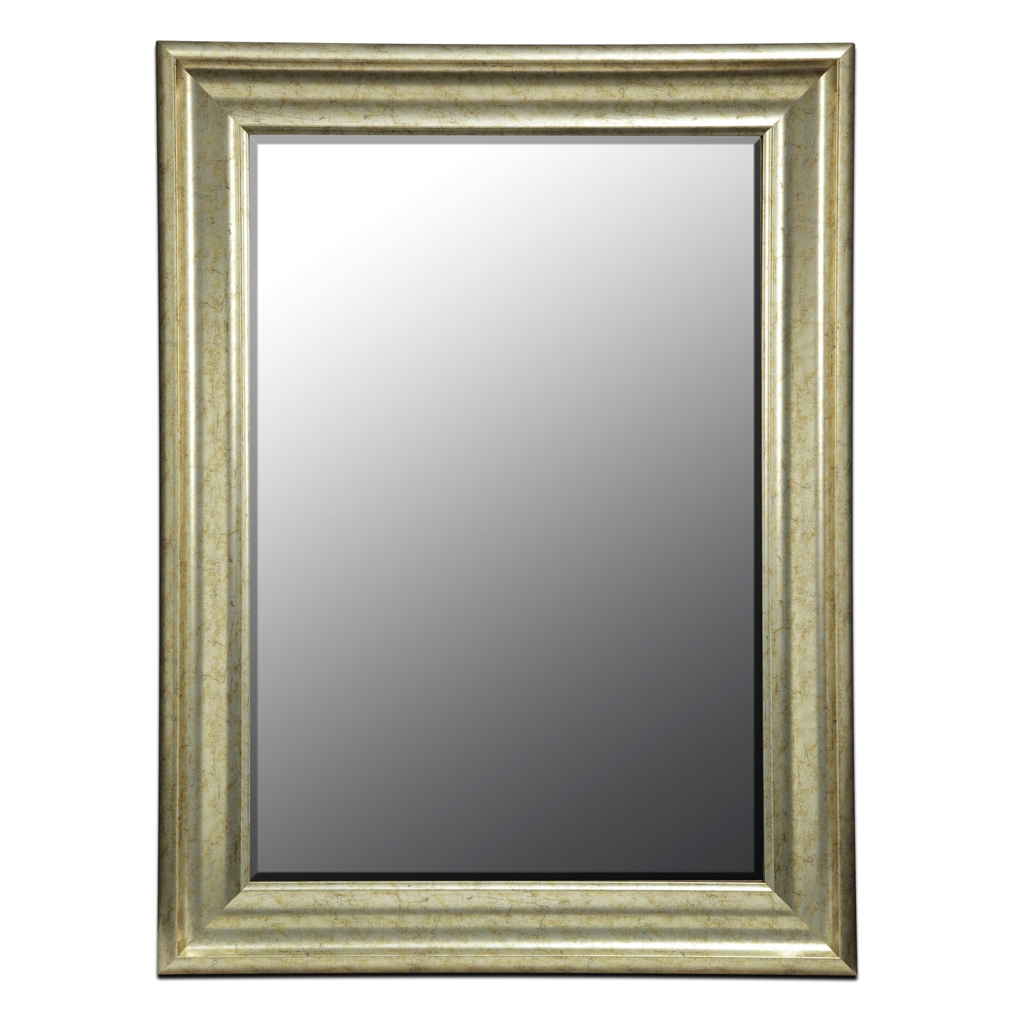 Vivien Mirror - Antique Silver