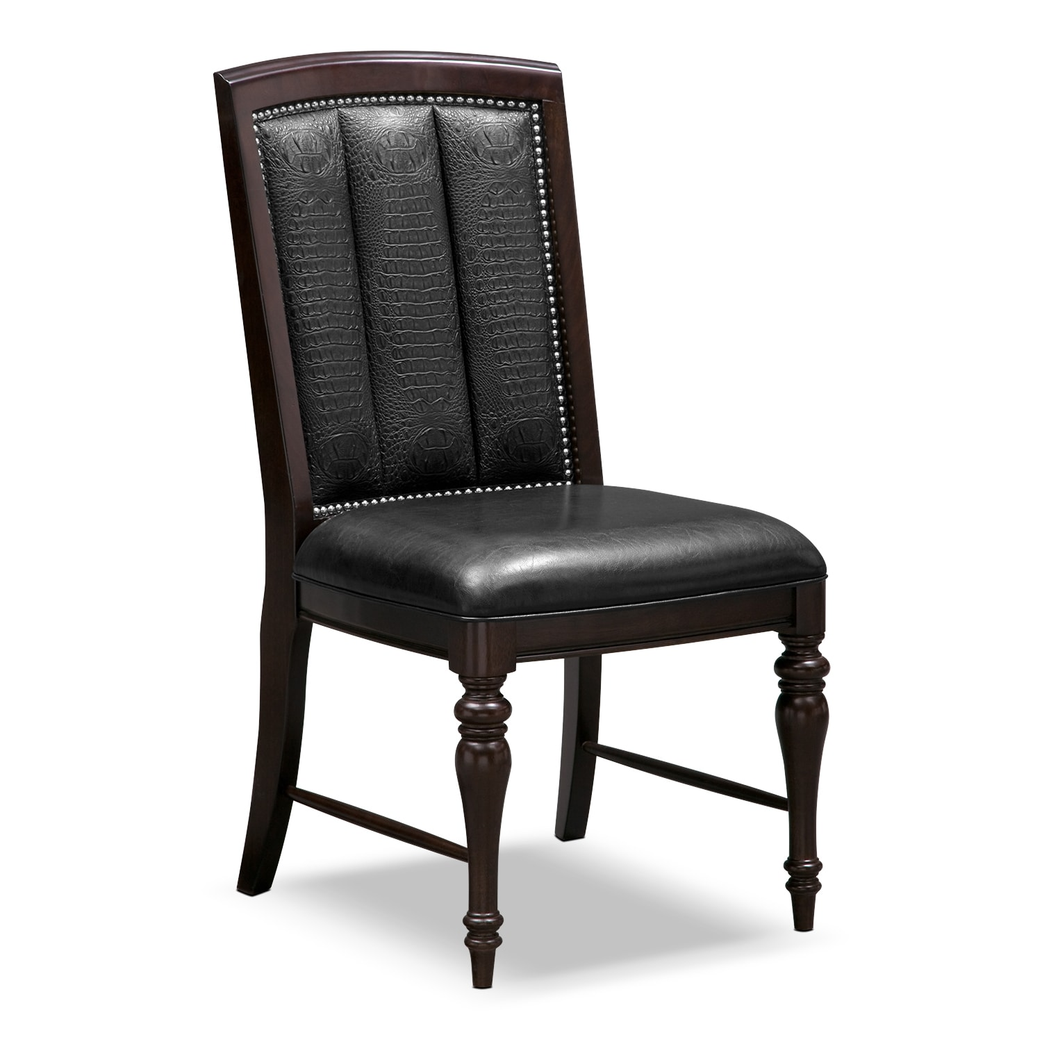 Dining Room Furniture - Esquire Side Chair - Cherry