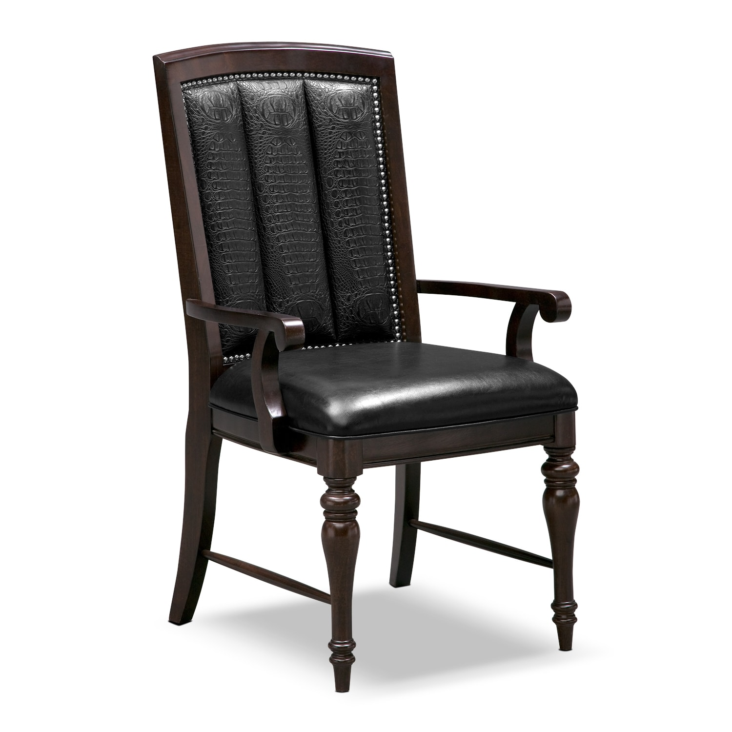 Dining Room Furniture - Esquire Arm Chair - Cherry