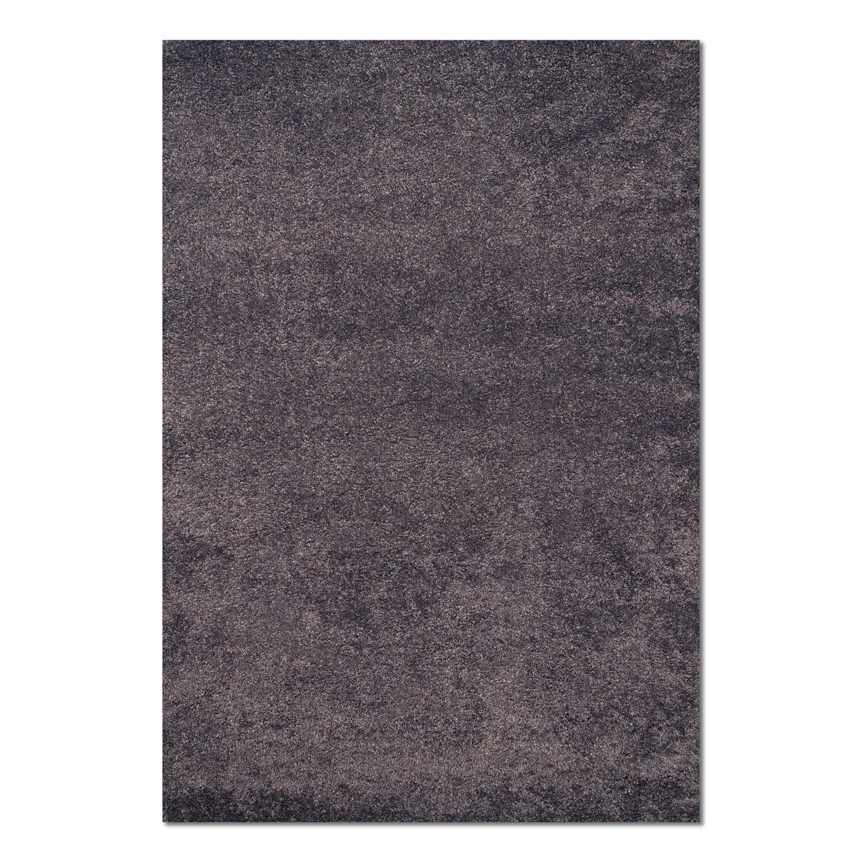 Rugs - Comfort Shag Area Rug - Slate Blue