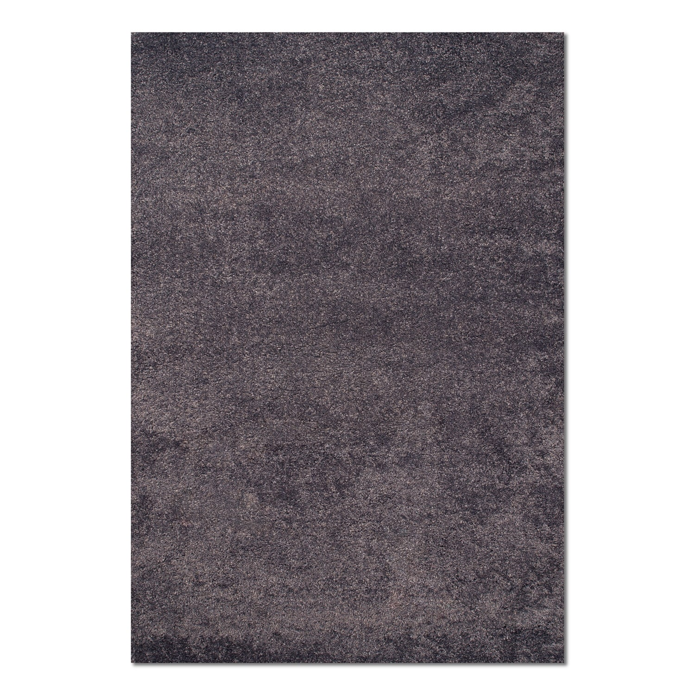 Rugs - Comfort Slate Blue Shag Area Rug (5' x 8')