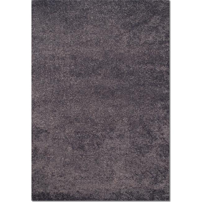 Rugs - Comfort Shag 5' x 8' Area Rug - Slate Blue