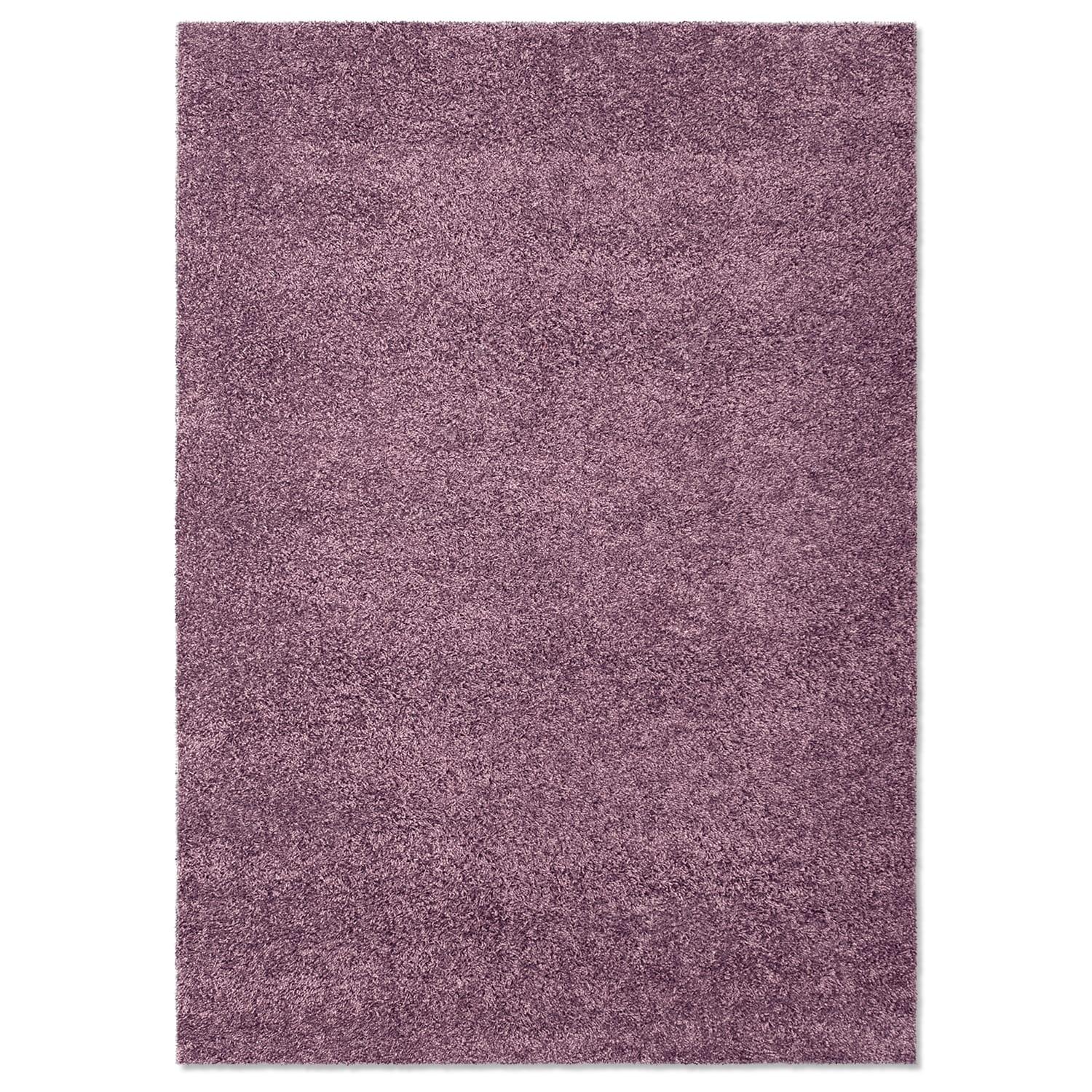 Domino Purple Shag Area Rug (5' x 8')