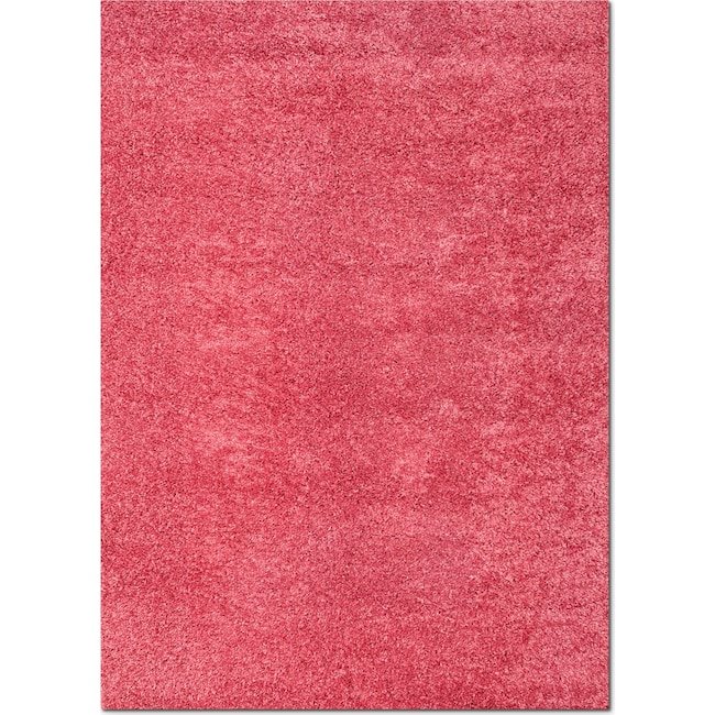 Rugs - Domino Shag Area Rug - Pink