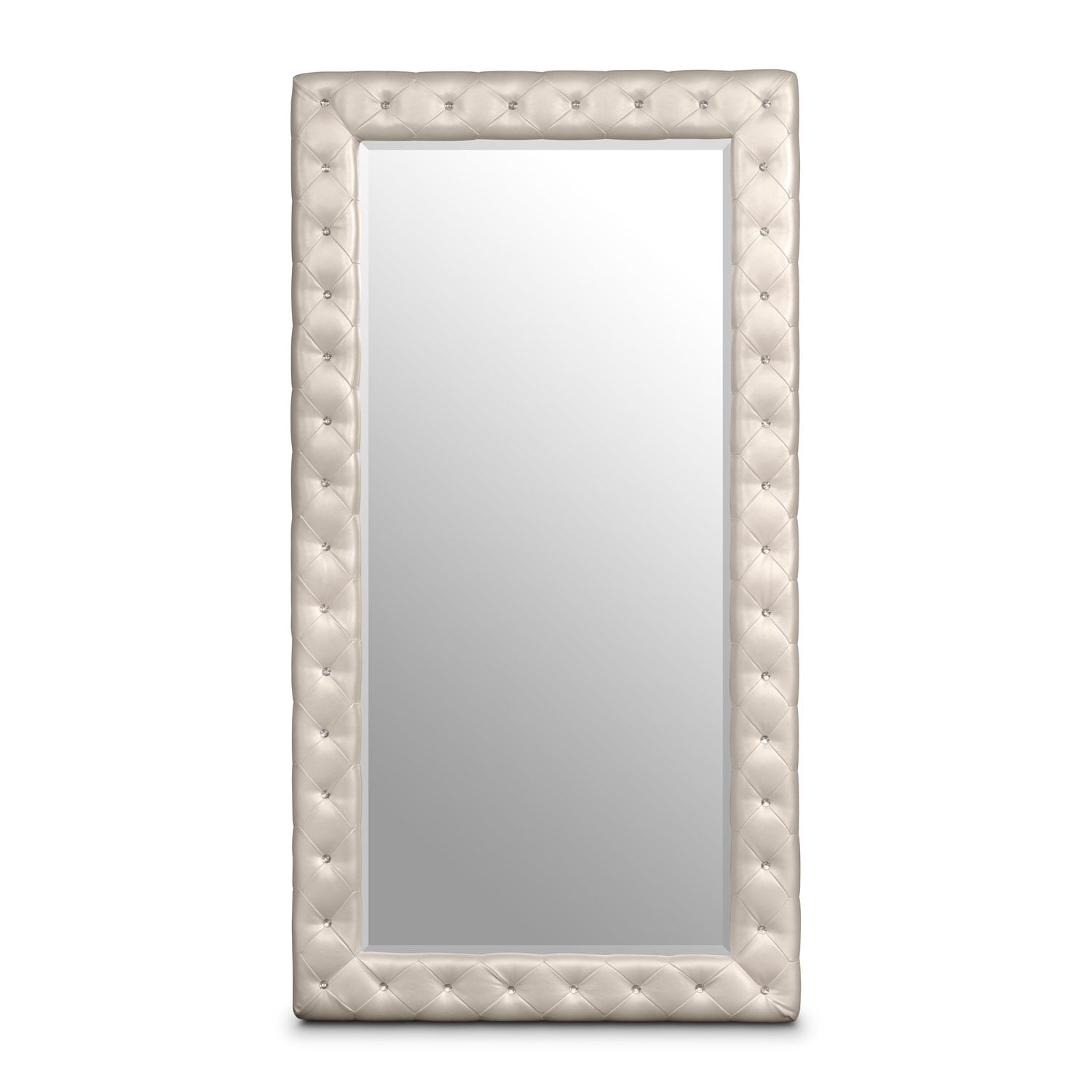 Bedroom Furniture - Marilyn Floor Mirror - Ivory