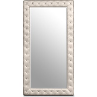 Marilyn Floor Mirror - Ivory