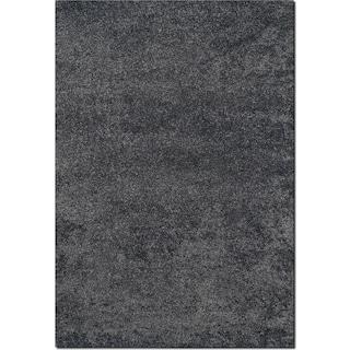 Comfort Shag 5' x 8' Area Rug - Charcoal