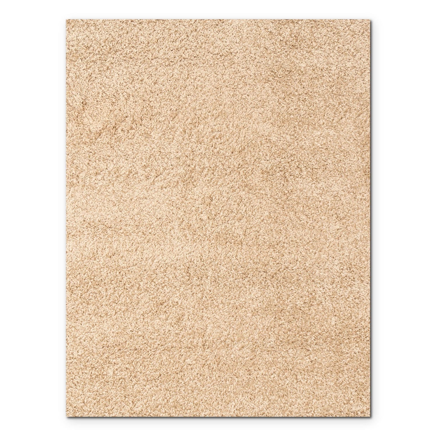 Rugs - Domino Taupe Shag Area Rug (8' x 10')
