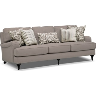 Candice Sofa - Gray