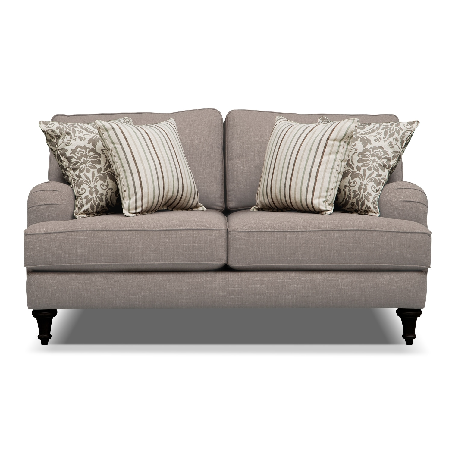 Candice Loveseat Gray American Signature Furniture