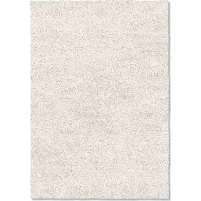 Rugs - Comfort Shag 5' x 8' Arear Rug - White