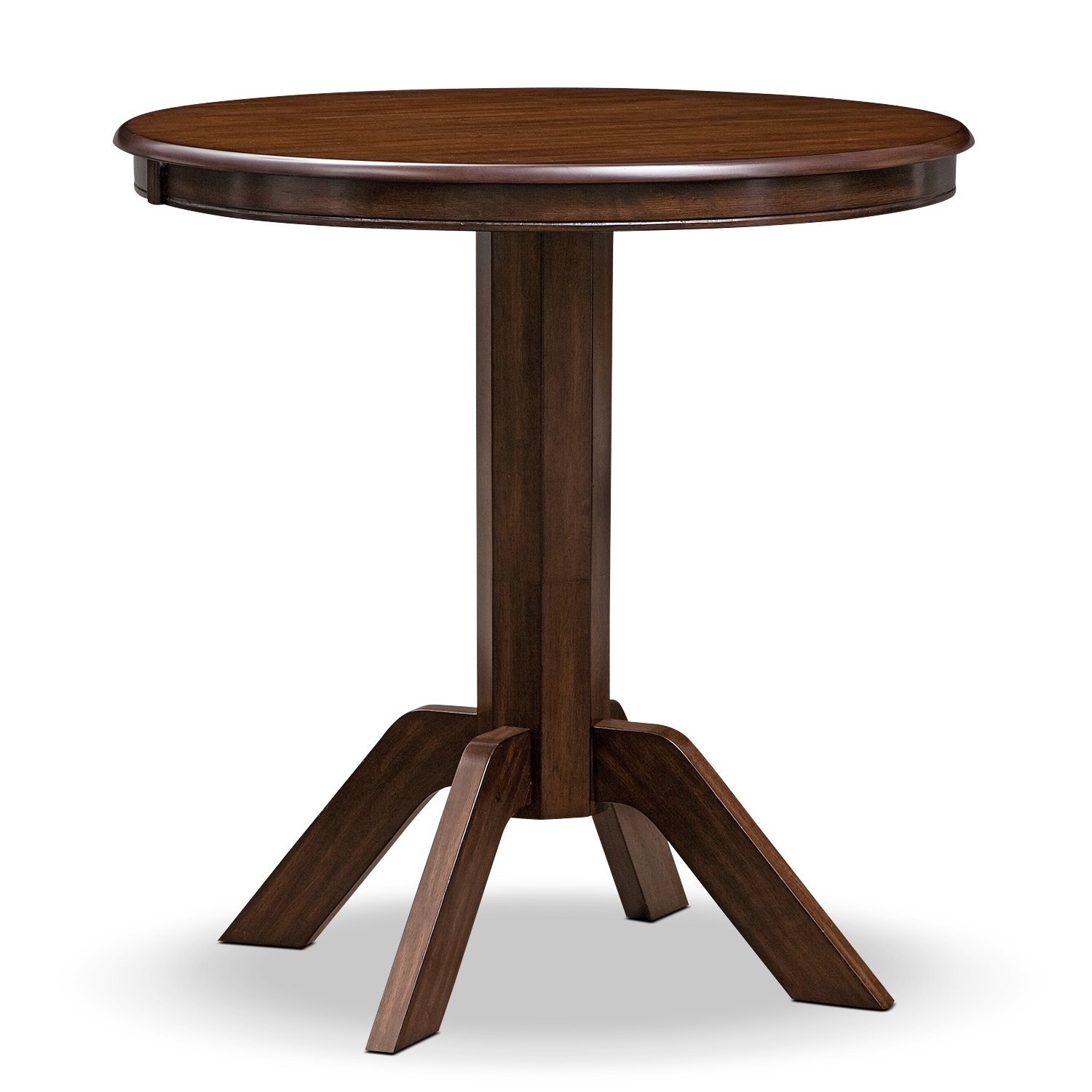 american signature furniture concord dining room pub table challiman round dining room bar table pub tables d amp l