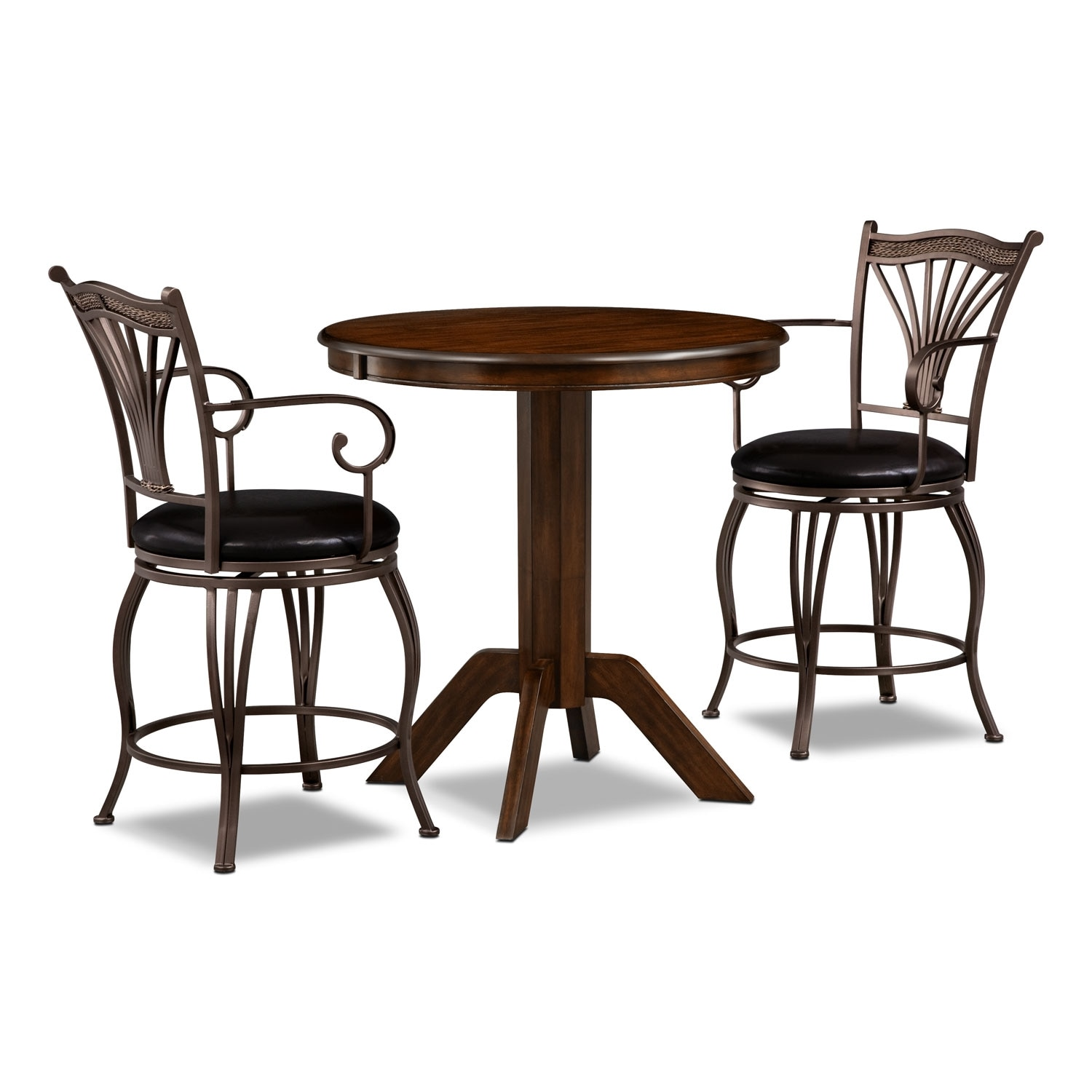 Concord Morgan 3 Pc. Counter-Height Dinette