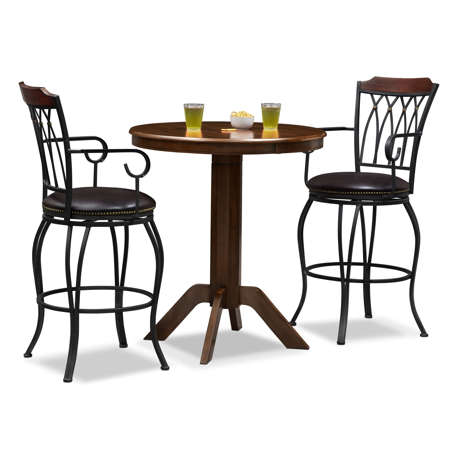 Concord Winfield 3 Pc. Bar-Height Dinette