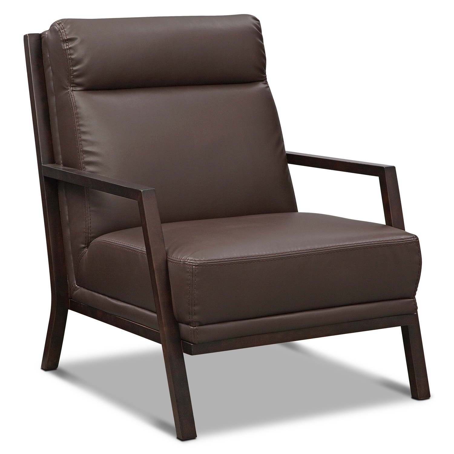 Bowery Accent Chair - Brown