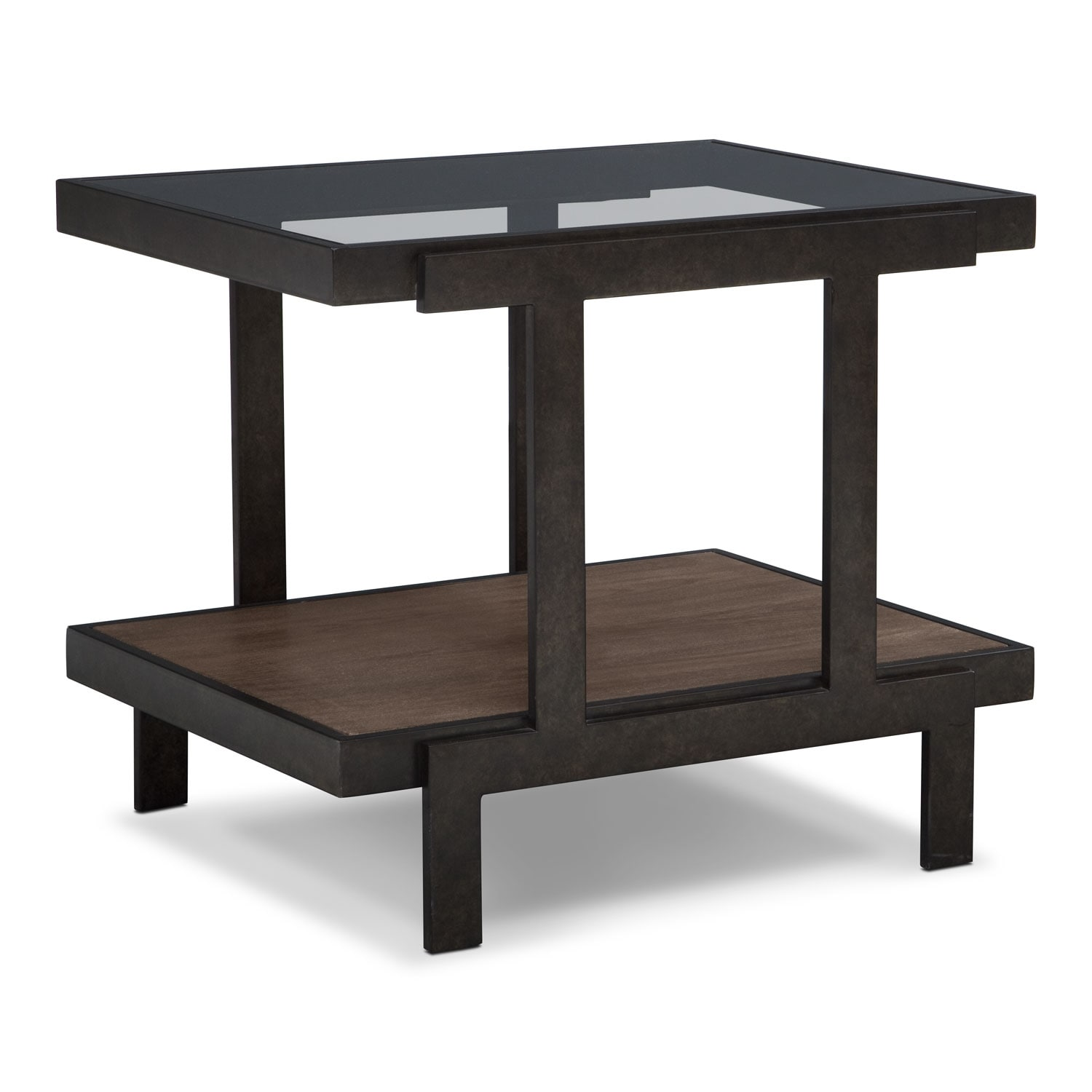 Accent and Occasional Furniture - Beasley End Table - Espresso