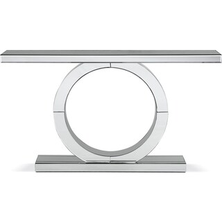 Olympia Sofa Table - Mirror